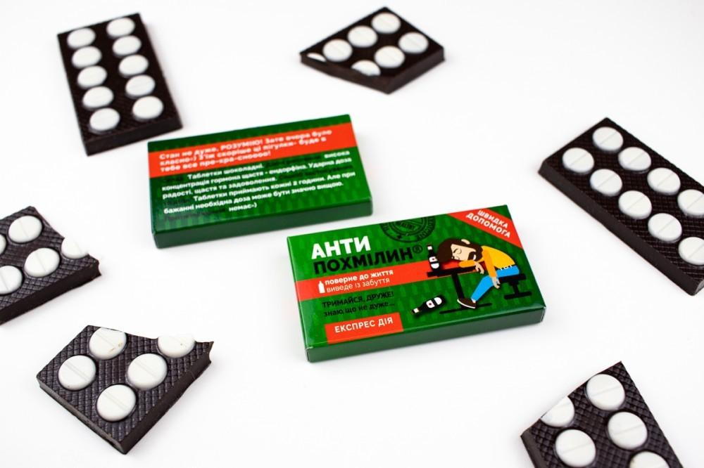 Шоколадная аптечка для мужчины