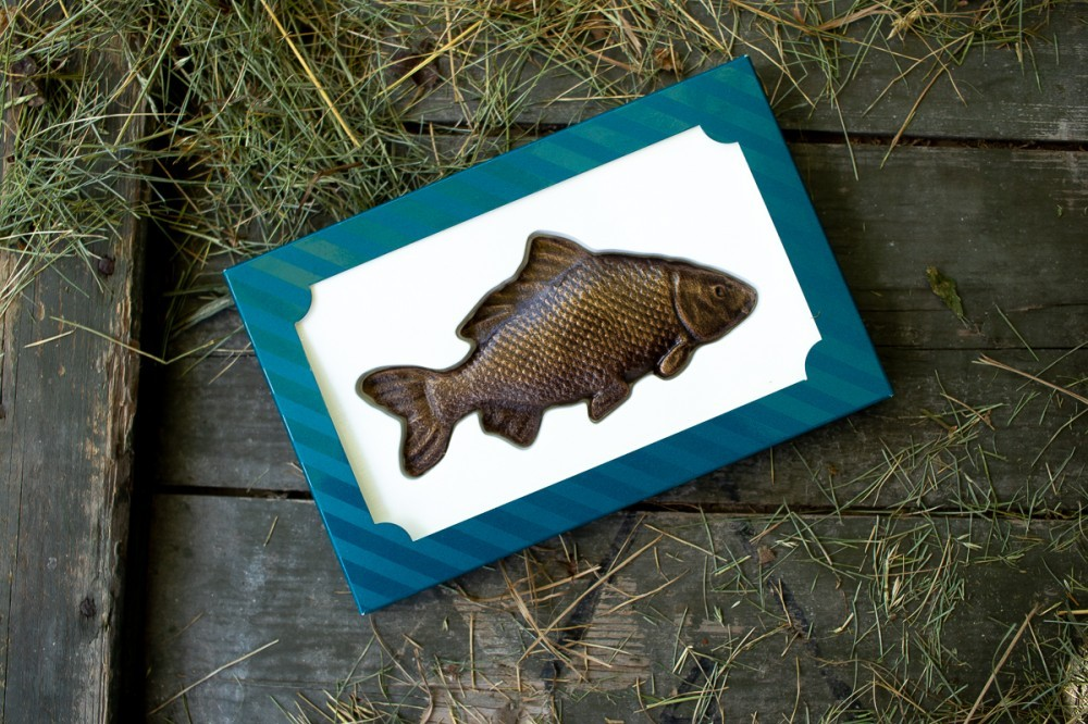 """Шоколадный сувенир """"Рыба"""""""