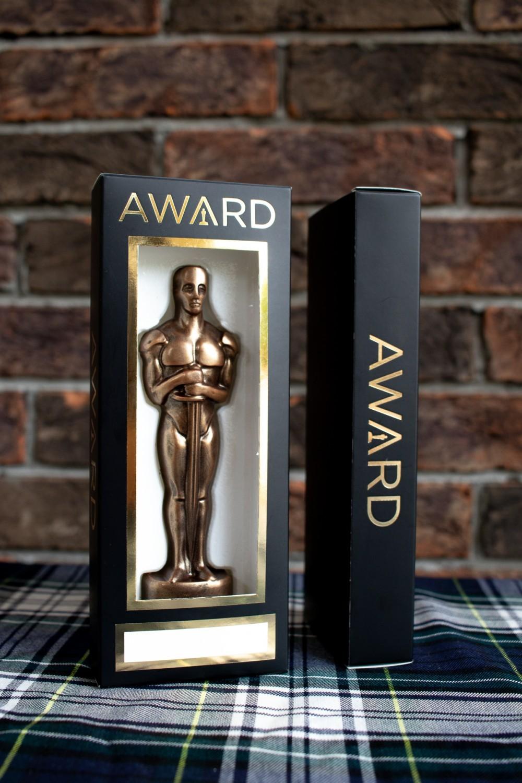 Шоколадный именной Оскар