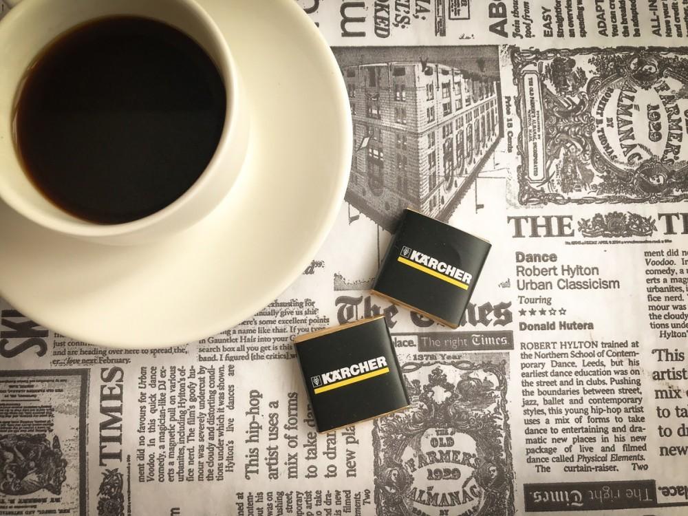 Мини шоколадки с логотипом