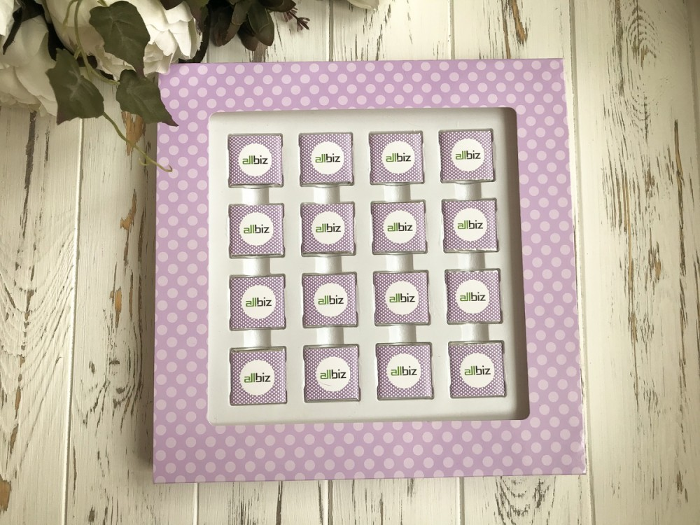 Корпоративный подарок Набор на 16 конфет