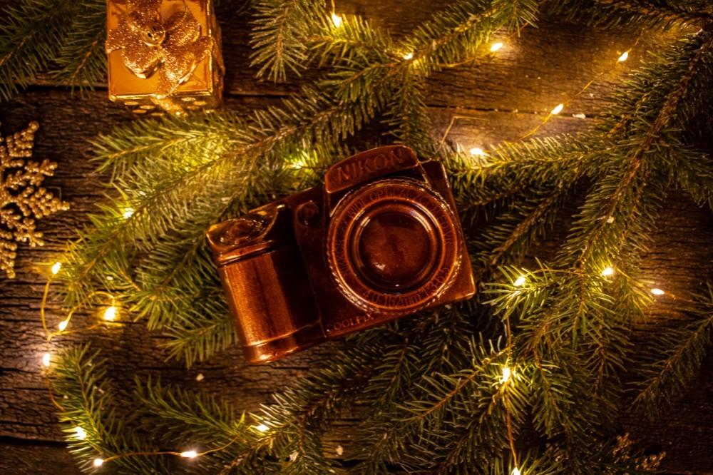 Новогодний подарок Фотоаппарат