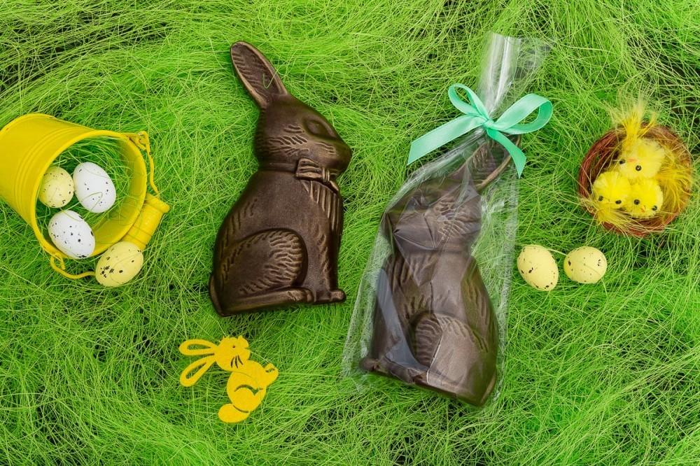 Шоколадный кролик барельеф