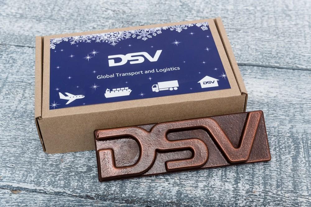 Шоколадный логотип компании
