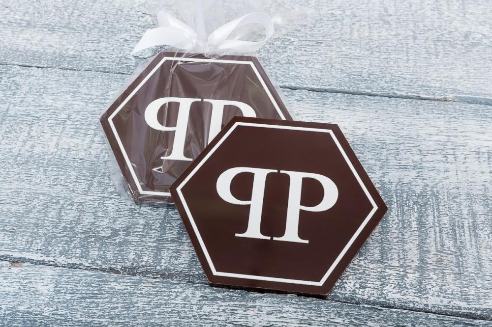 Шоколад с надписью под заказ