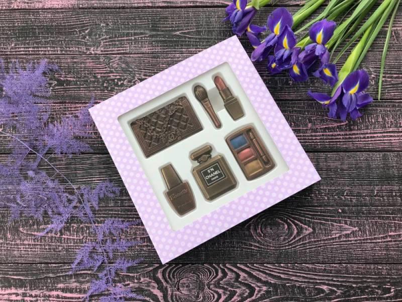 Большой набор Шоколадная косметичка