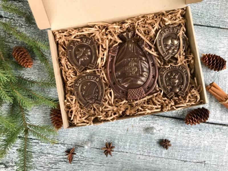 Шоколадный набор Подковы