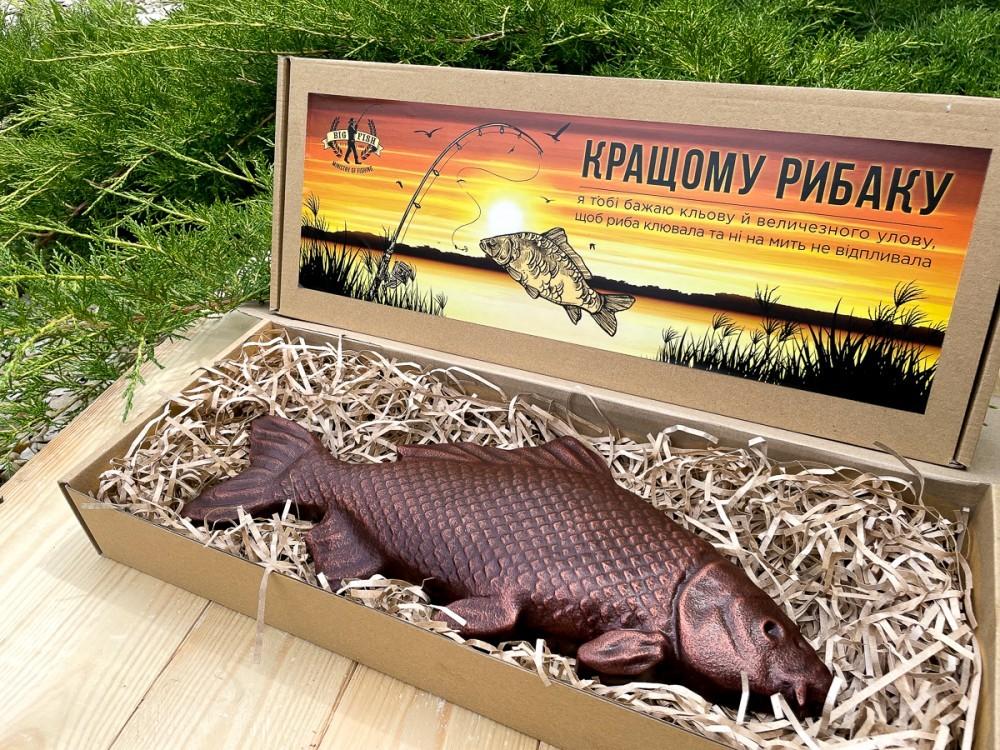 Шоколадная рыба Карп для мужчин