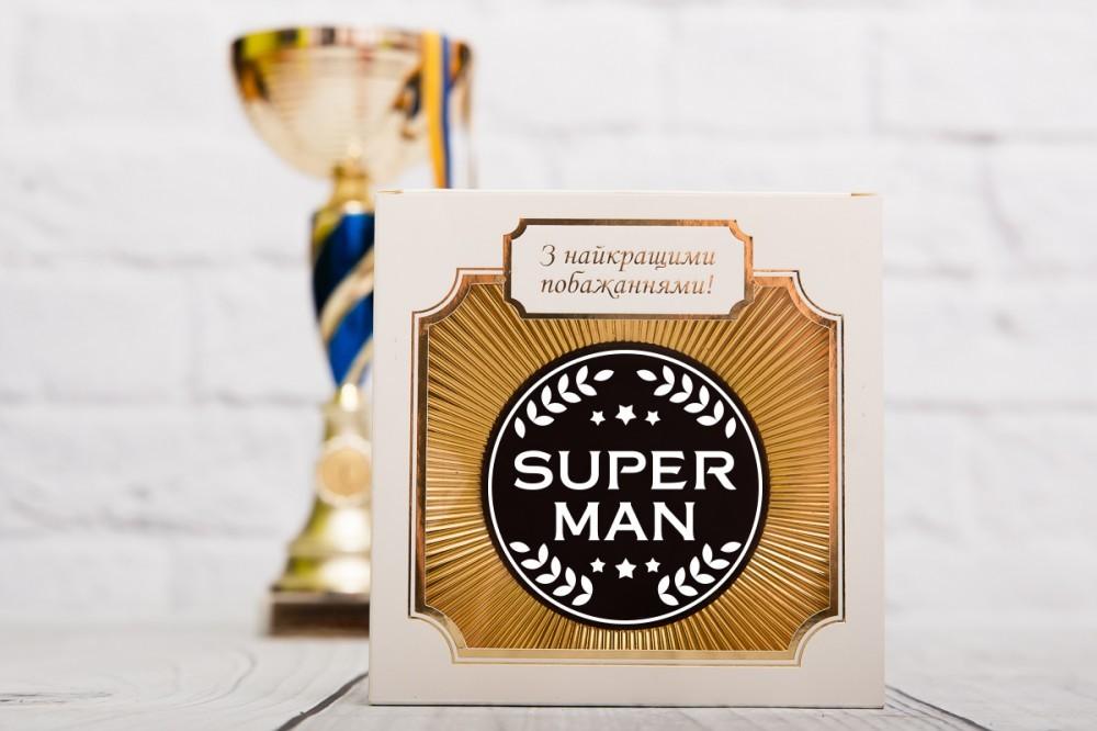 Шоколад для мужчины SUPER MAN