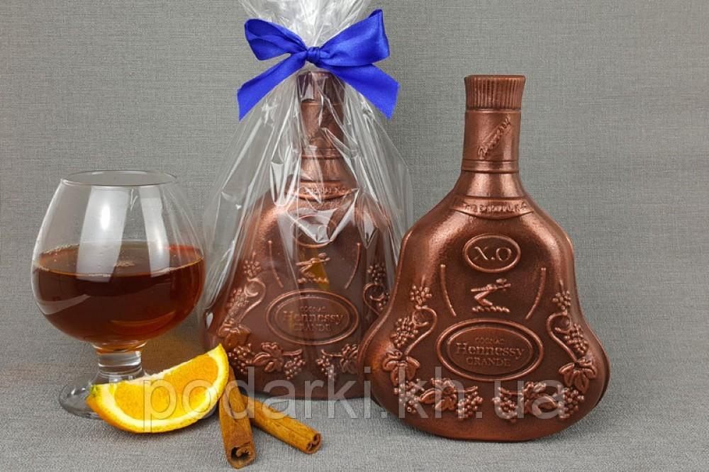 Шоколадная бутылка Hennessy