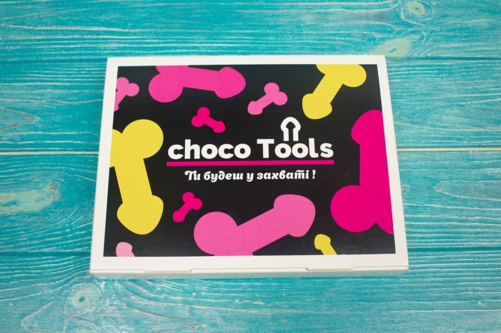 Набір фалосів з шоколаду