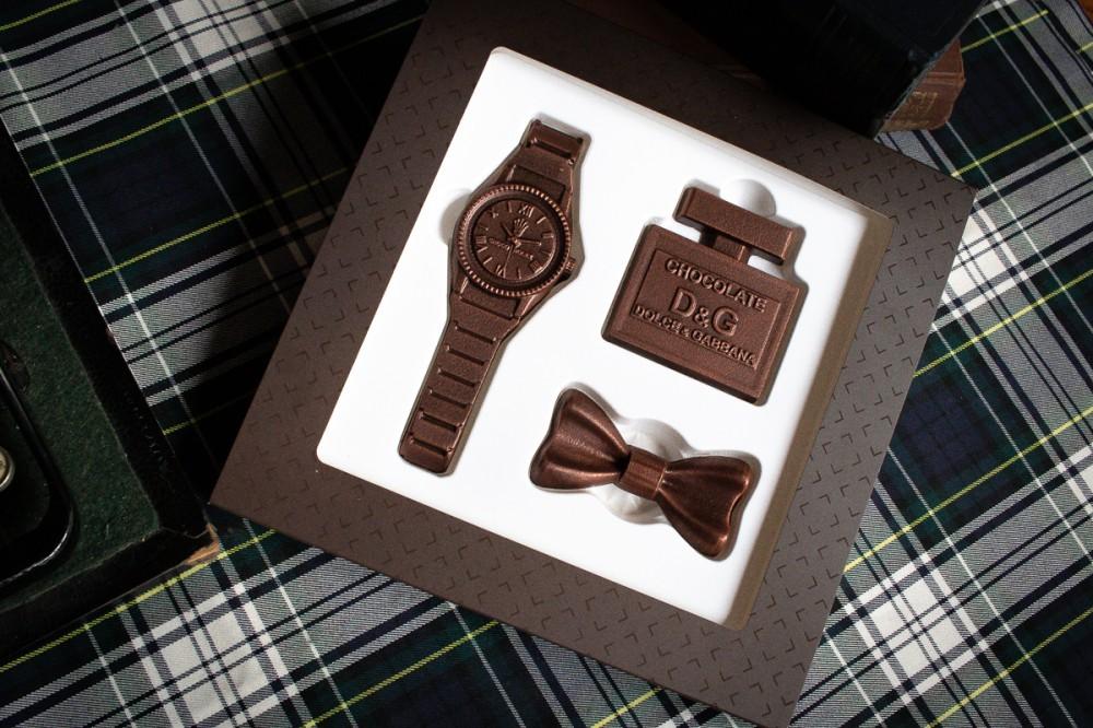 Стильный набор шоколада для мужчин