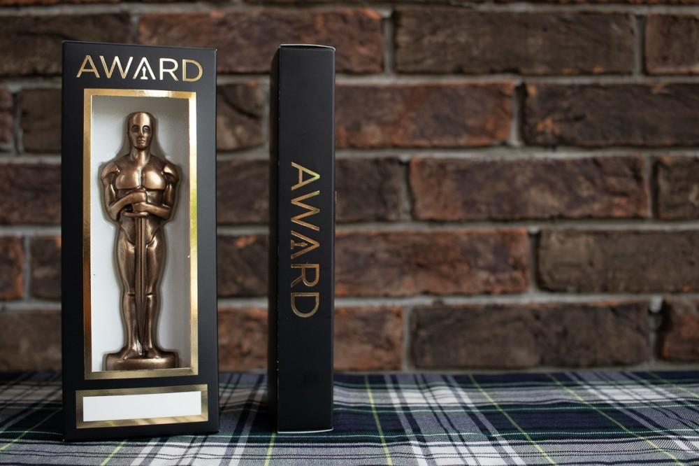 """Подарок мужчине на 14 октября """"Оскар именной"""""""