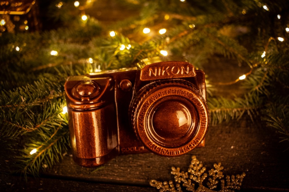 """Подарочный шоколад """"Фотоаппарат"""""""