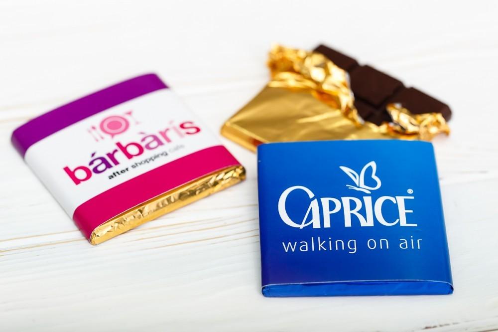 Брендированный шоколад 40 грамм (от 50 шт)