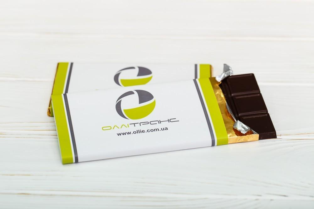 Шоколадка с логотипом (от 50 шт)