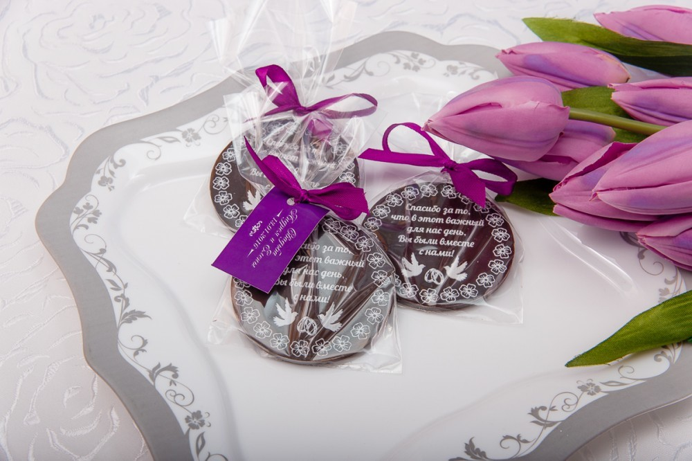 Оригинальный подарок для гостей на свадьбе