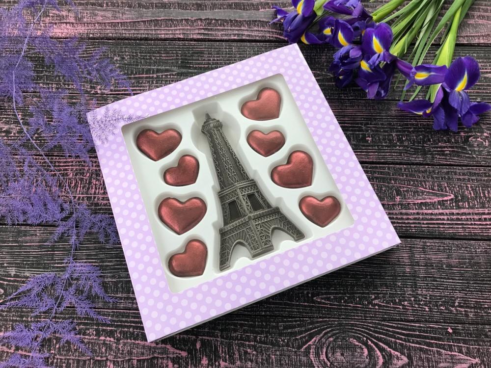 """Шоколадный набор фигурок """"С любовью"""""""