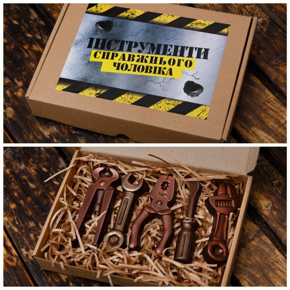 """Подарочный шоколад для мужчин """" Инструменты"""""""