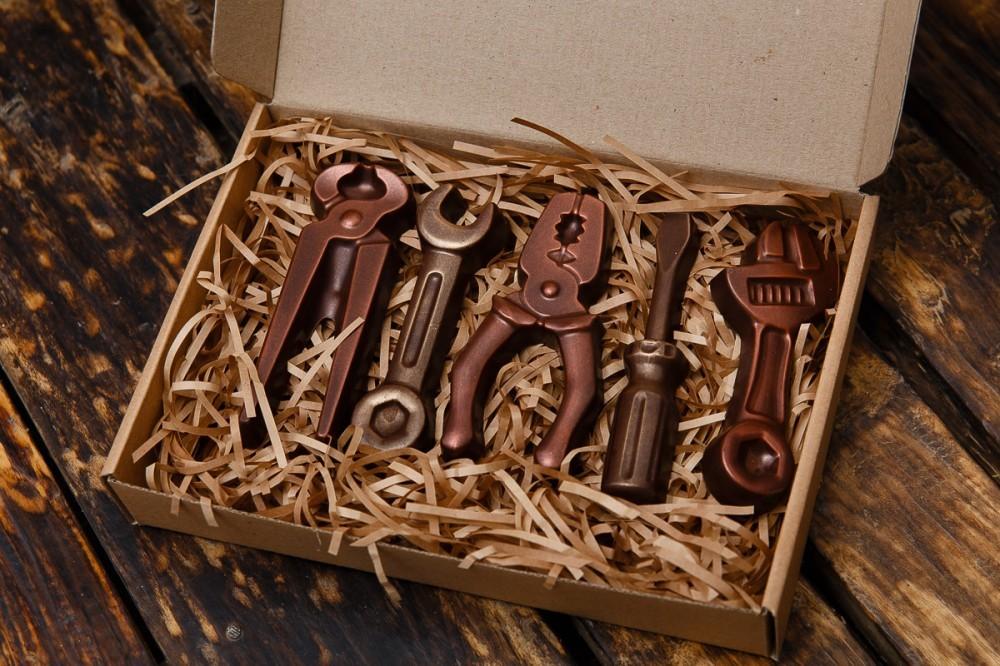 Набор инструментов шоколадных