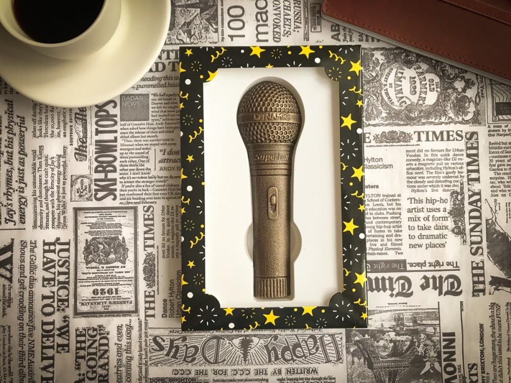 Шоколадный микрофон