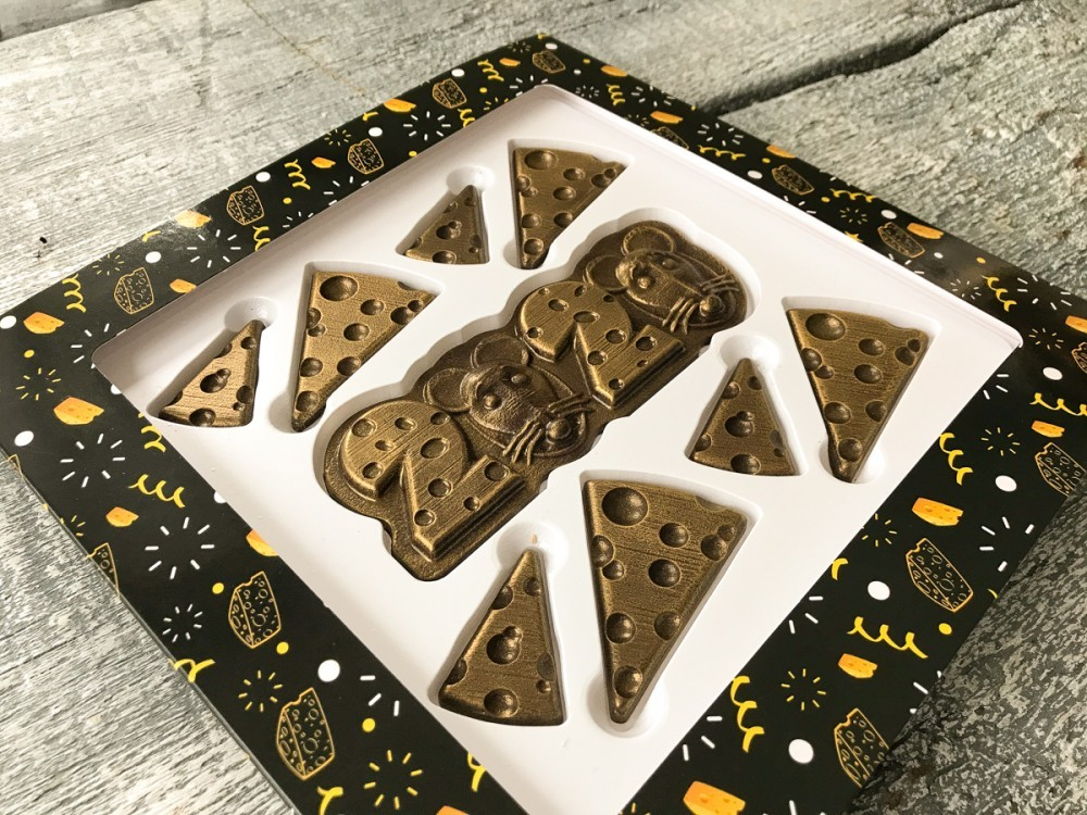 Новогодний шоколадный набор Сыр